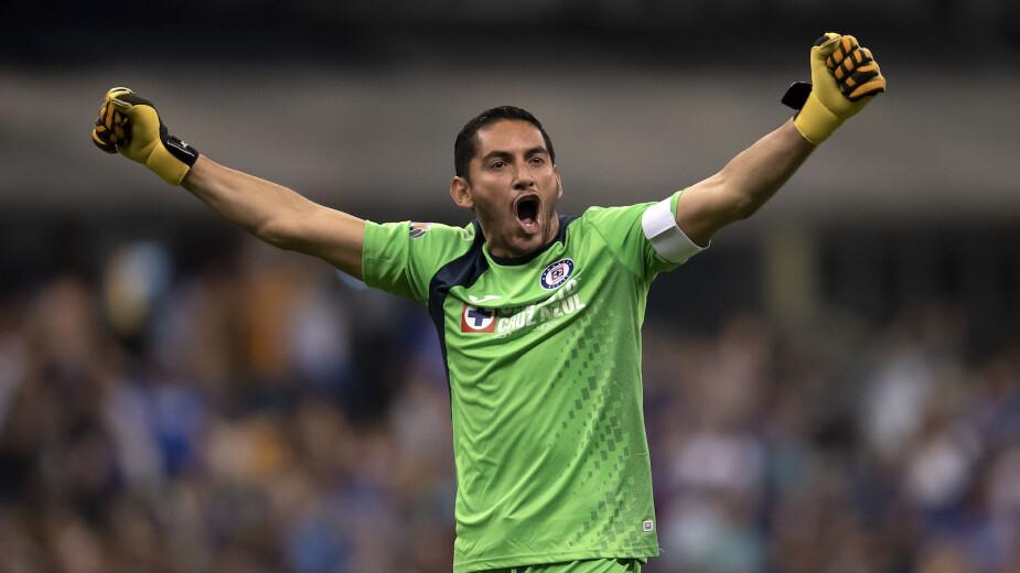 Jesús Corona, un histórico de Cruz Azul y la Liga MX