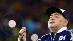 Diego Armando Maradona habla sobre el coronavirus