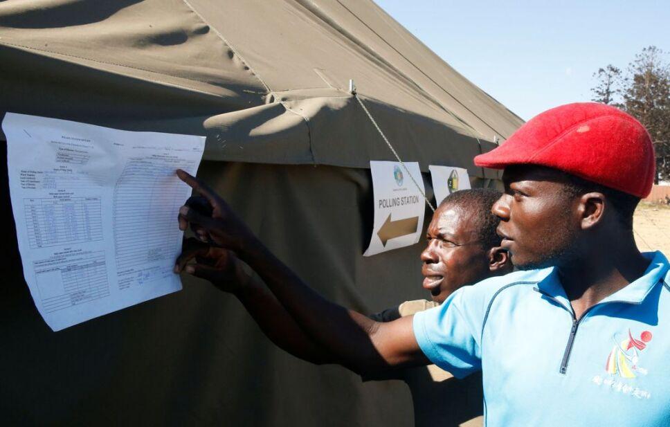 zimbabue elección