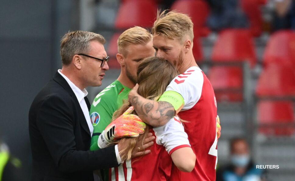 Christian Eriksen se desvanece, suspenden partido Dinamarca vs Finlandia