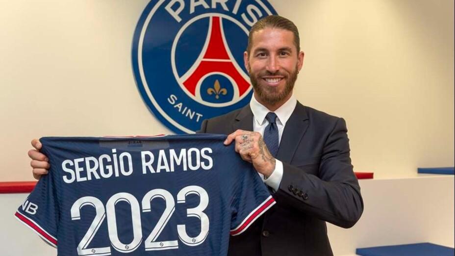 Sergio Ramos firma con el PSG