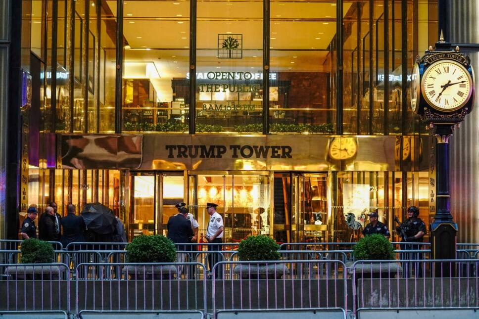 trump tower policias