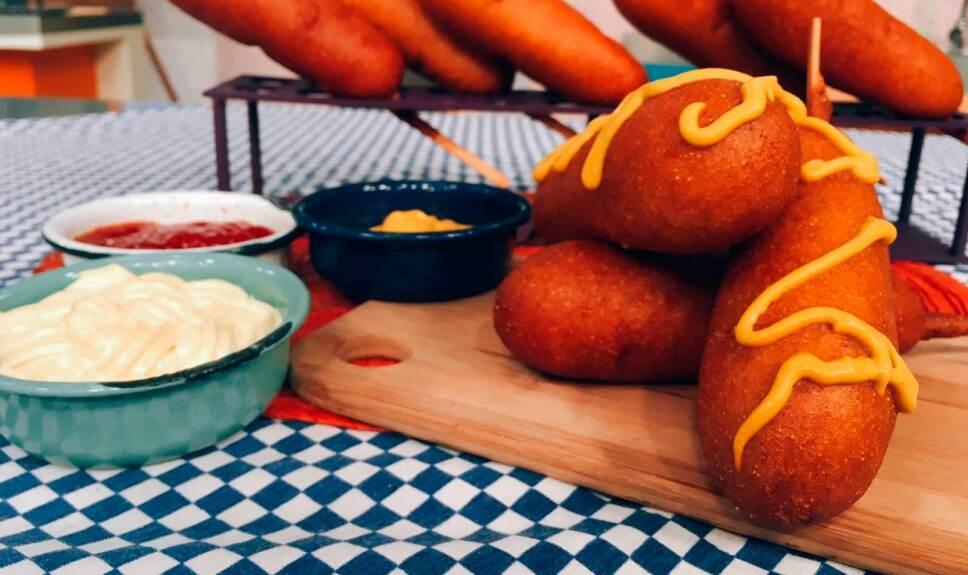 Receta Banderillas de salchicha y queso