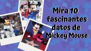 Mickey curiosidades 2020