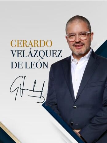 Gerardo Velázquez en el Dictado