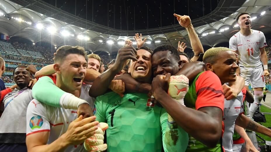 Suiza a cuartos de final