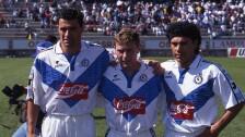 Míchel, Butragueño y Hugo Sánchez en el Celaya