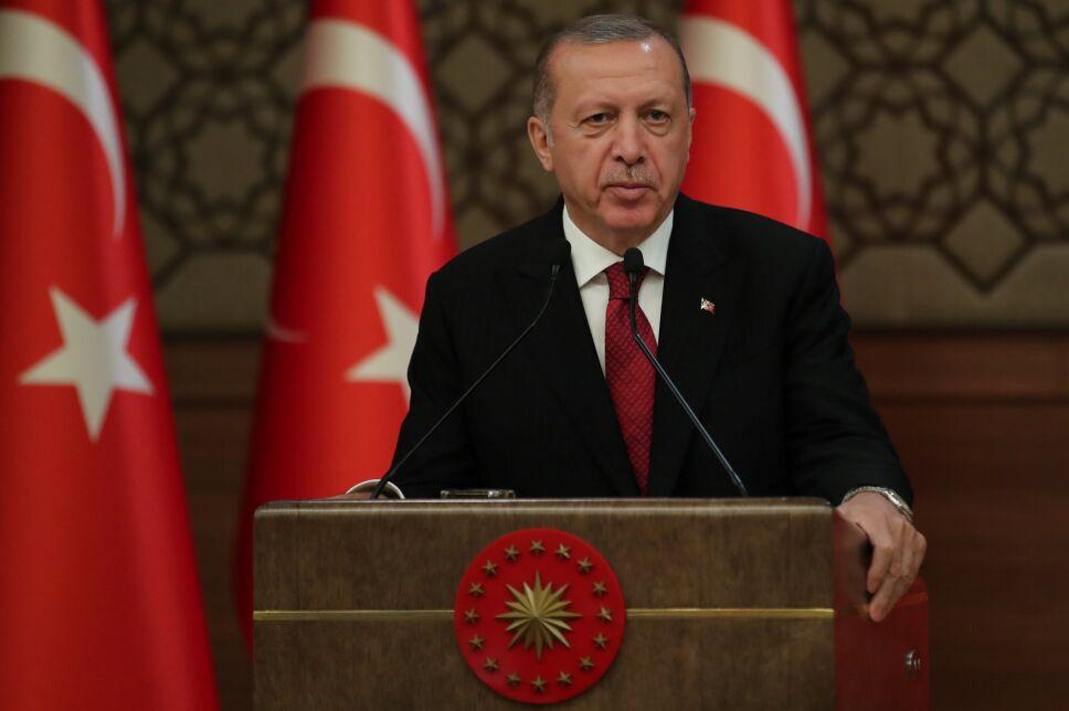 Erdogan inicia nuevo periodo presidencial