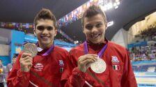 3 medallistas olímpicos mexicanos Londres 2012.jpg