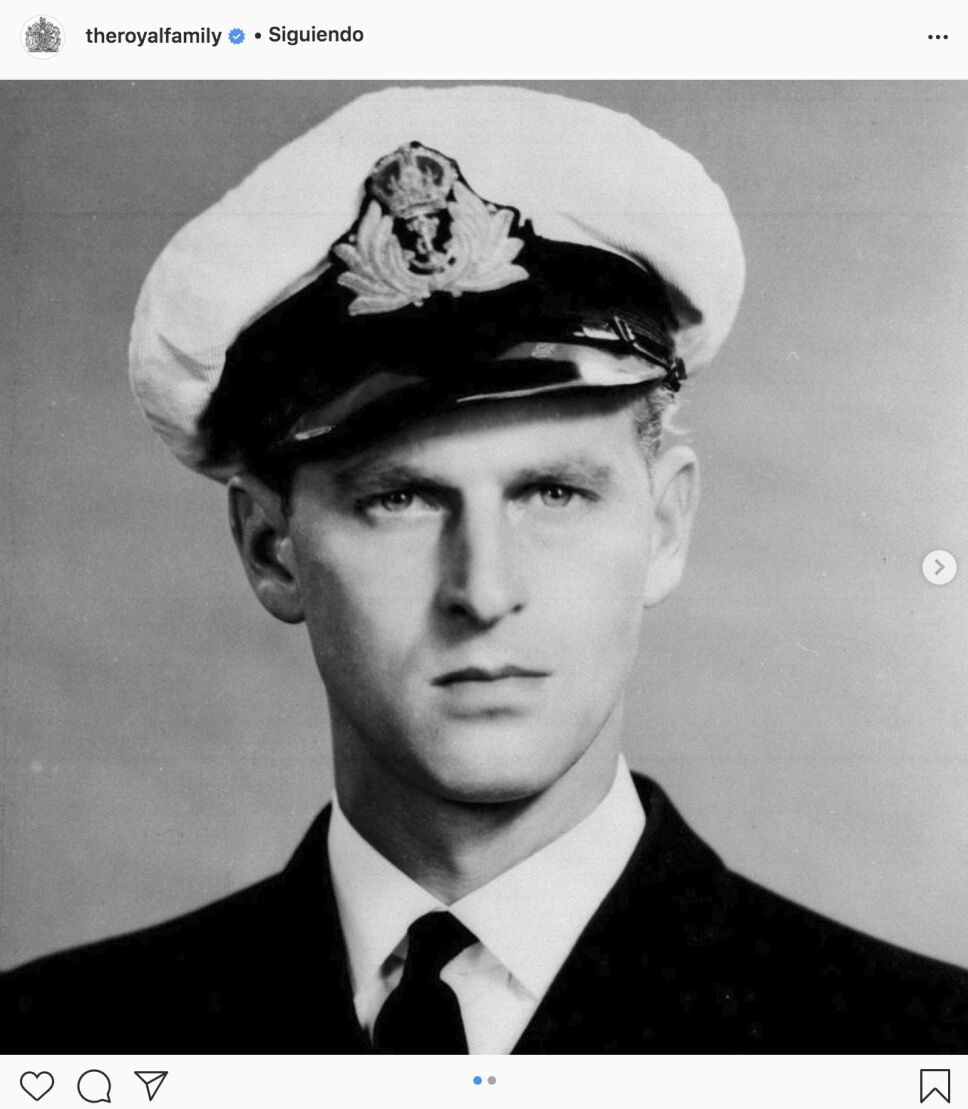 Príncipe Felipe joven
