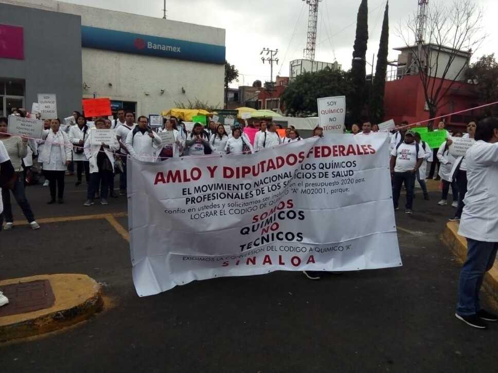 Manifestación diputados