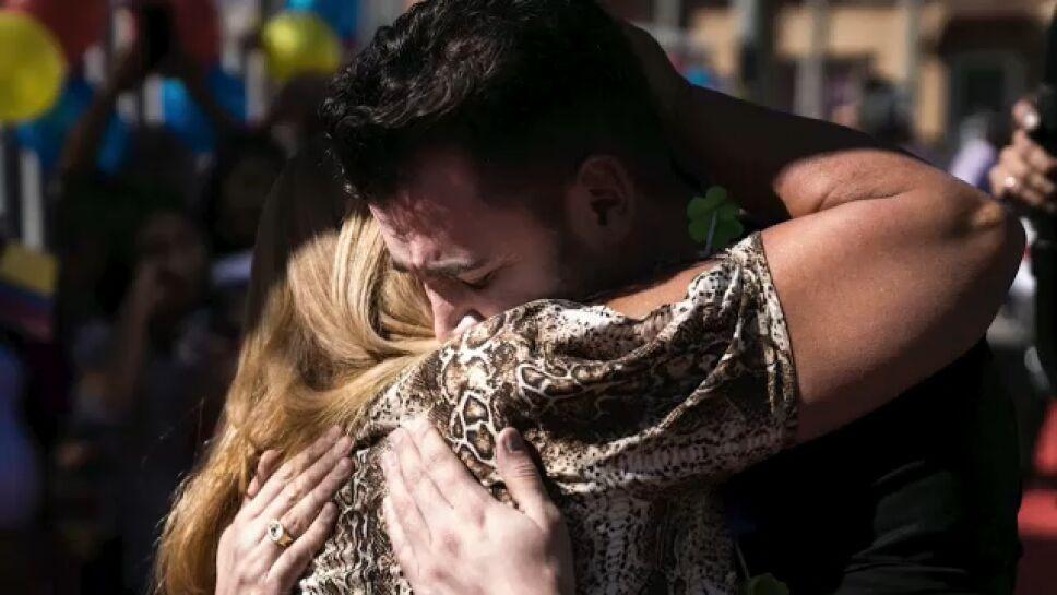 Hermanos colombianos reencuentro 32 años después del secuestro de uno de ellos