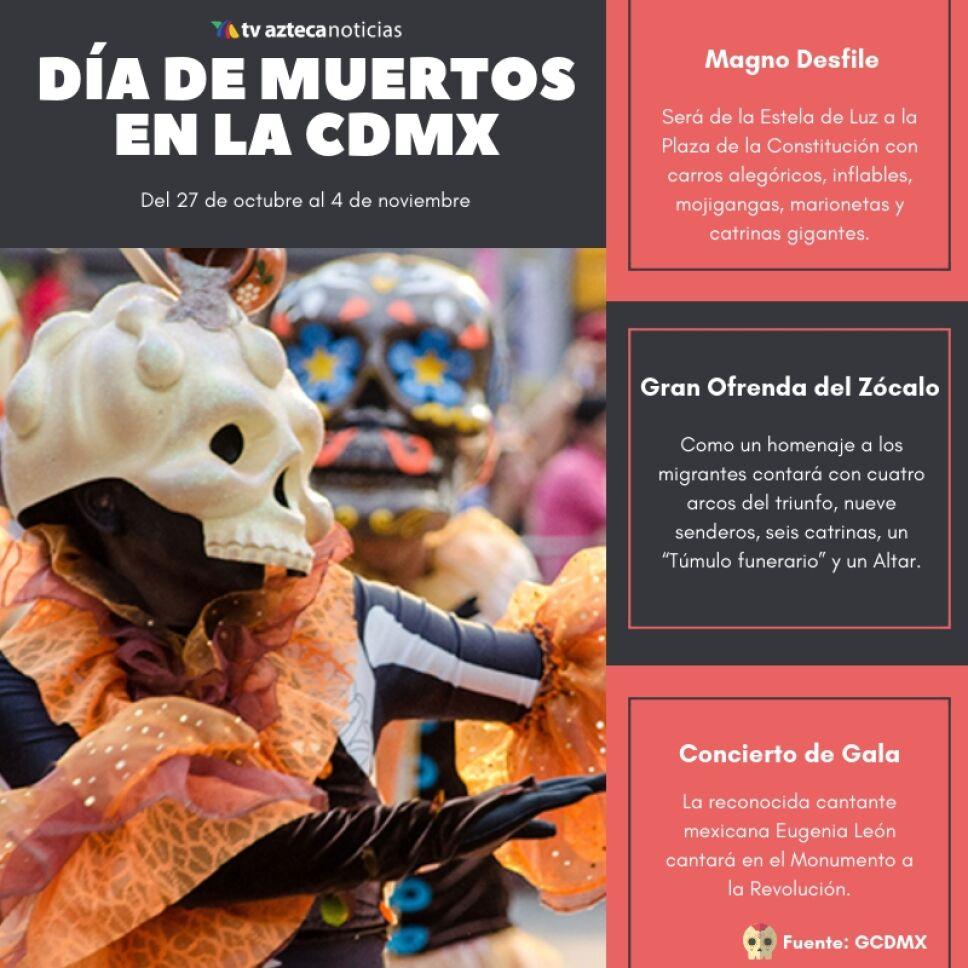 CDMX, el mejor lugar para celebrar el Día de Muertos