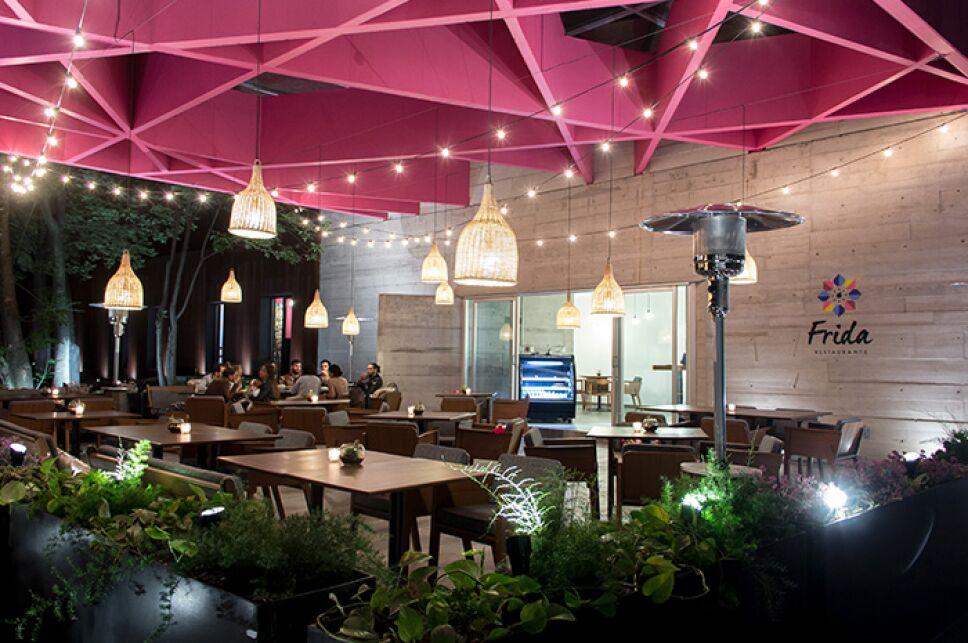 Restaurante Frida en Coyoacan / Foto: Especial