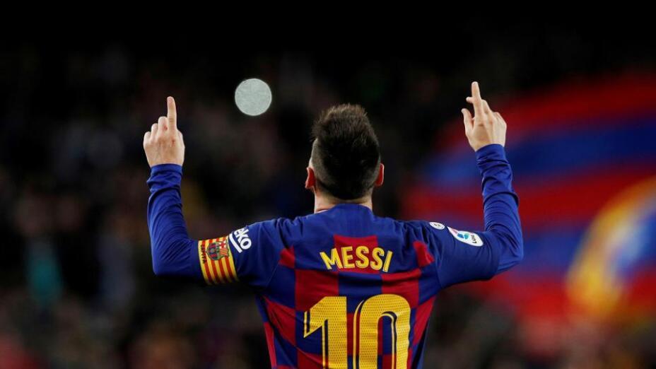 Lionel Messi es el capitán del Barcelona