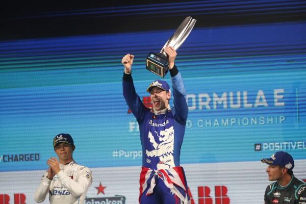 Alex Lynn, Fórmula E Londres