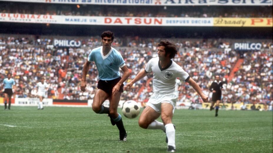 Gerd Müller, en el Mundial de México 1970