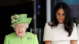 La reina Isabel responde a la entrevista de Meghan Markle y el príncipe Harry