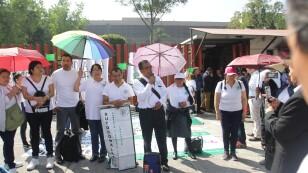 Protestas frente a Cámara de Diputados