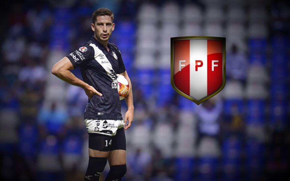 Santiago Ormeño es convocado por Perú