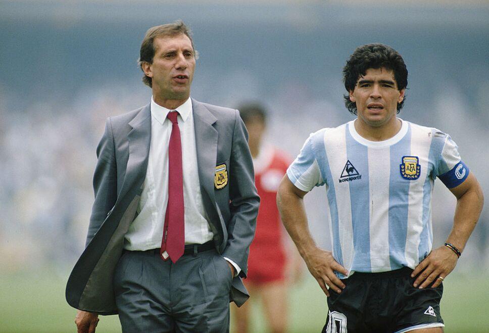 Bilardo hizo historia junto a Diego Armando Maradona