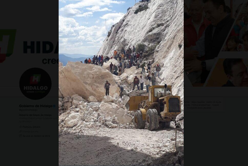 Fiscalía de Hidalgo confirma rescate de cuerpos en derrumbe de mina
