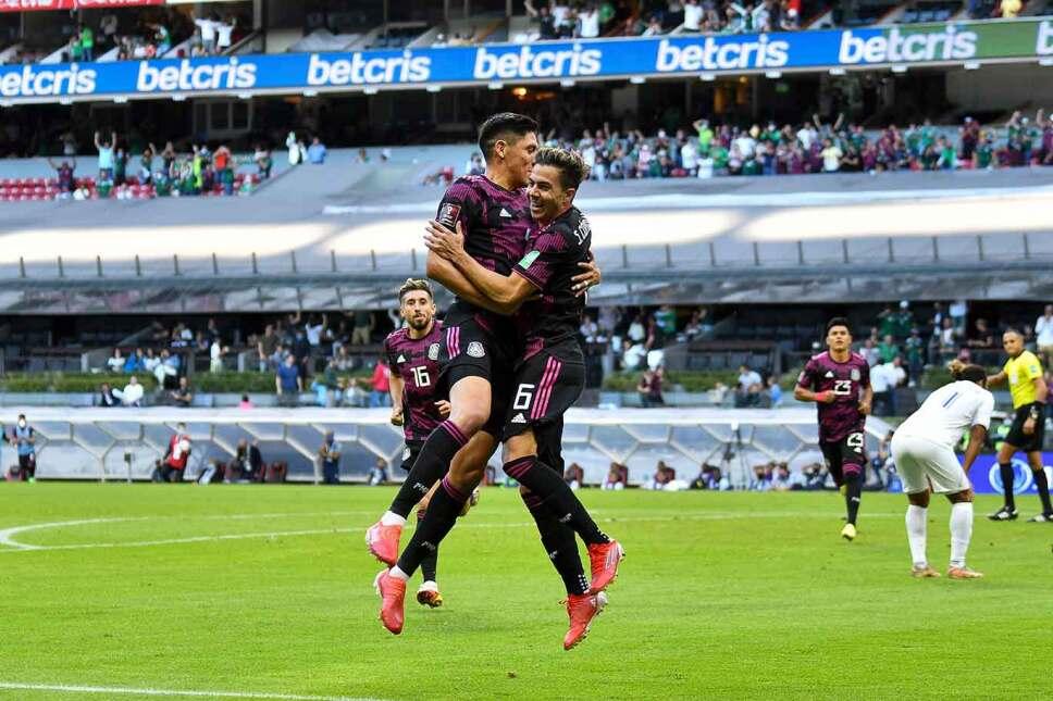 Selección Mexciana en Honduras vs Mexico