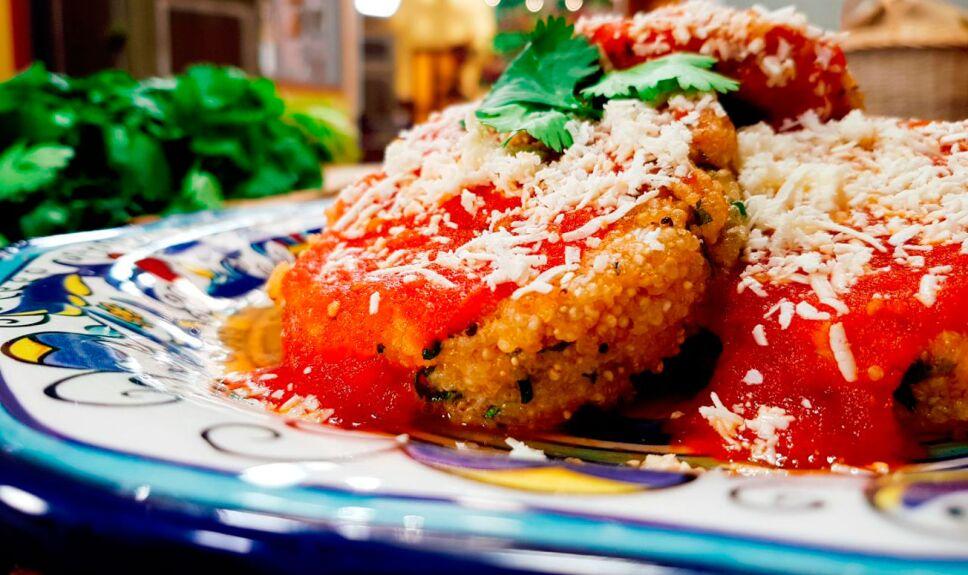 Receta Tortitas de amaranto y cilantro