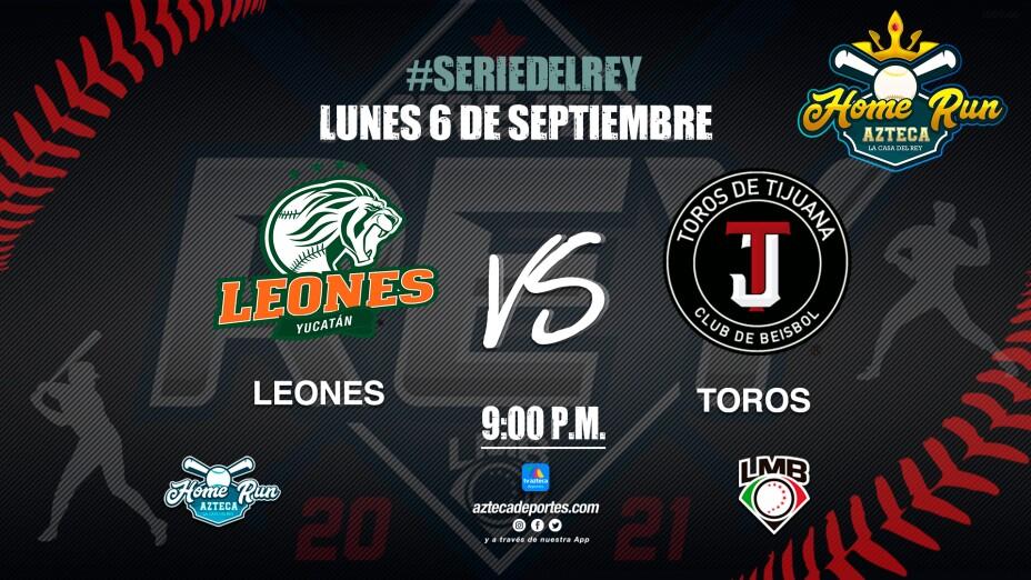 Home Run Azteca | Leones vs Toros Serie del Rey Juego 1