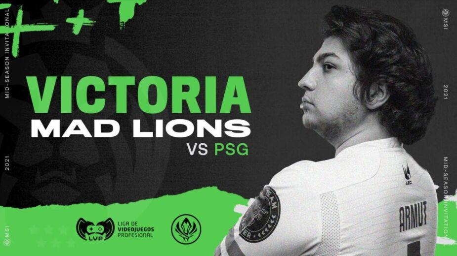 MSI día 5 MAD Lions Campeón