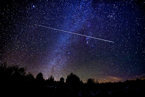 lluvia de estrellas mayo 2021
