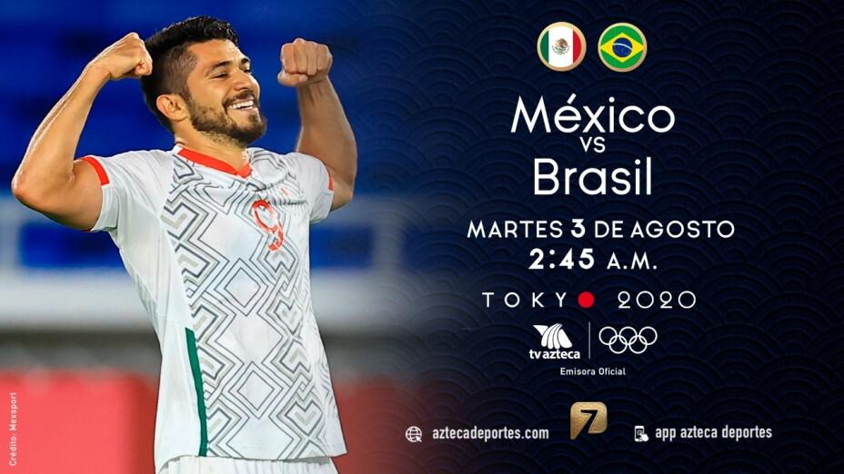 México vs Brasil Semifinal  Tokyo 2020