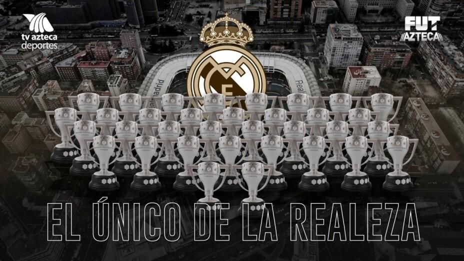 Real Madrid llega a 34 campeonatos