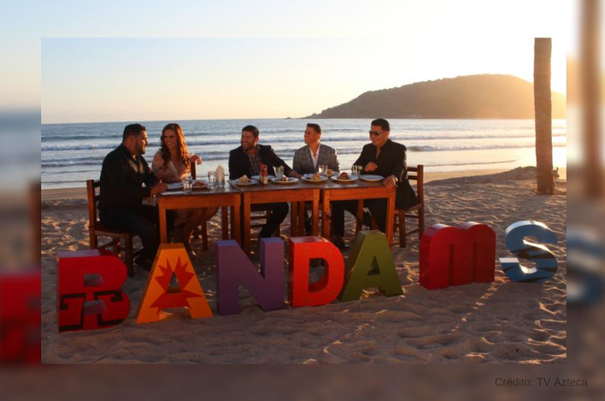 Nuestra Tania Rincón pasó una excelente tarde de entrevista con la Banda MS.