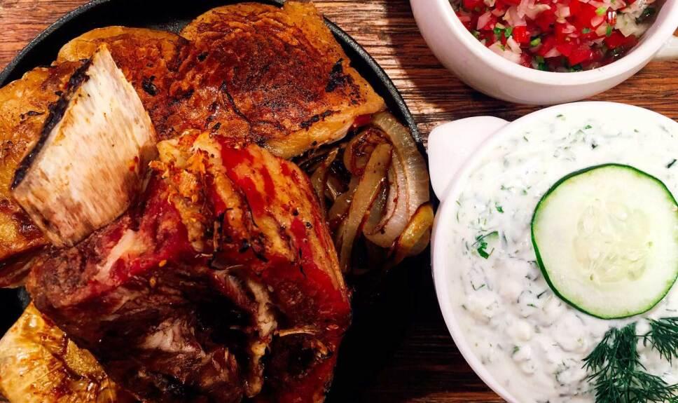 Receta Costilla ahumada a la leña Cocineros Mexicanos