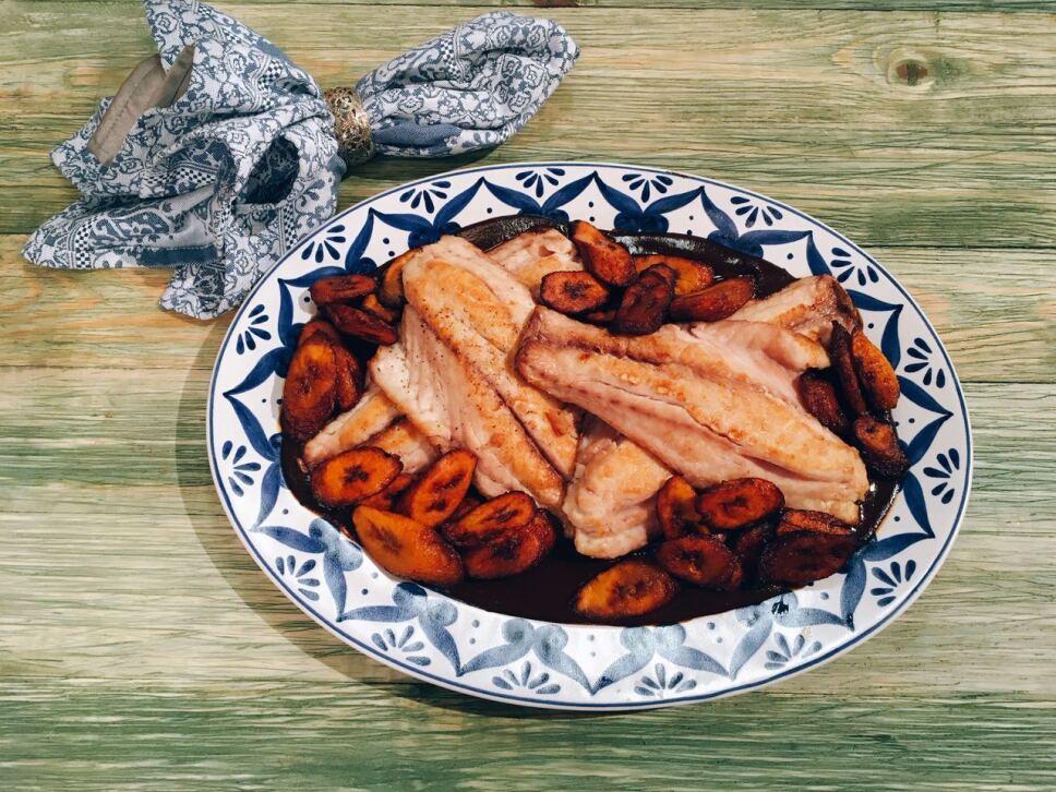 lonja de pescado con mole, cocineros mexicanos, tv azteca, receta