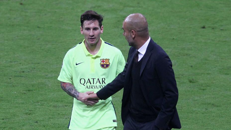 Pep Guardiola desea que Lionel Messi se retire en el Barcelona