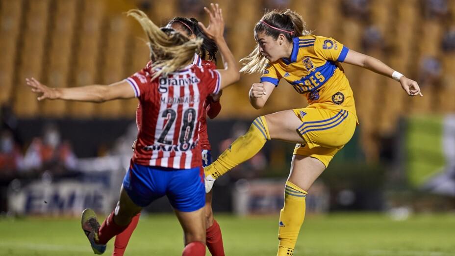 Tiges vs Chivas femenil