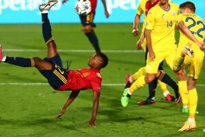 Ansu Fati en Selección Española