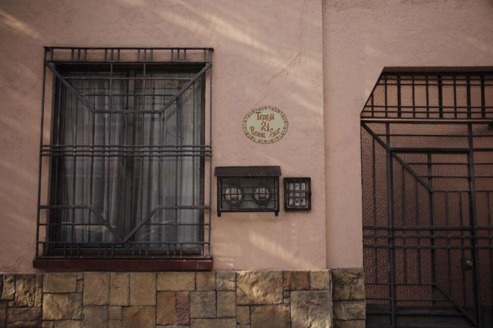 Fachada de la casa de Alfonso Cuarón / Foto: Archivo