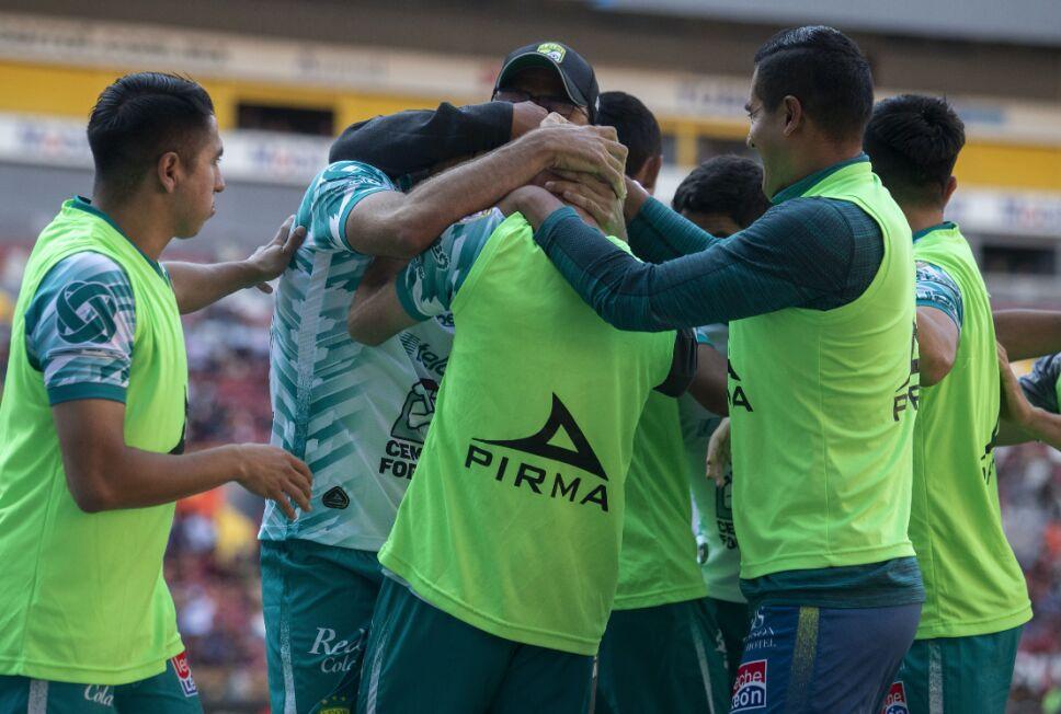 León venció al Atlas en la jornada 14 de la Liga MX