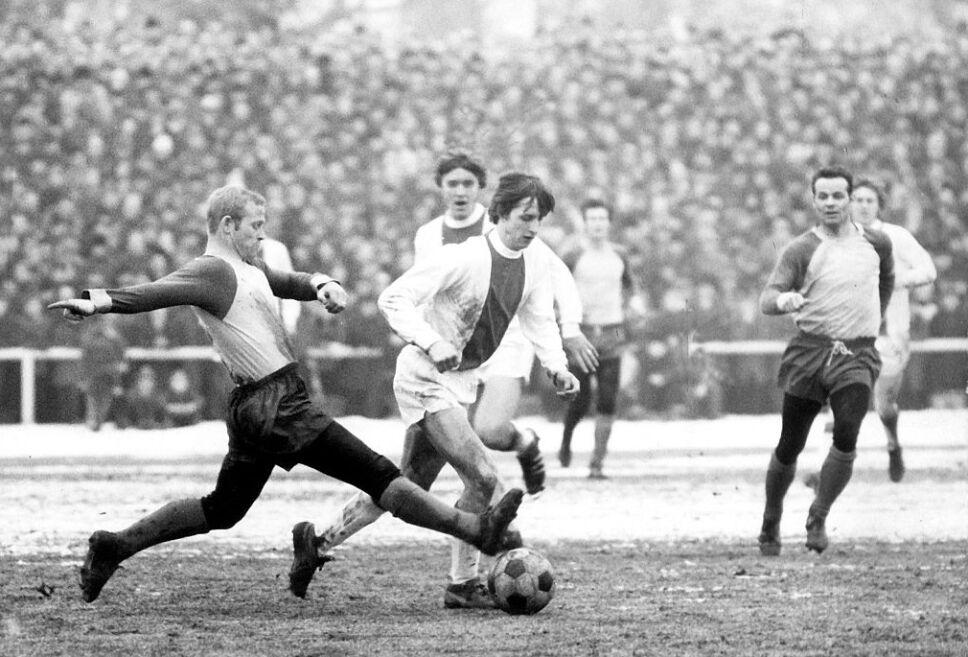 Johan Cruyff fue un genio del balón en el Ajax