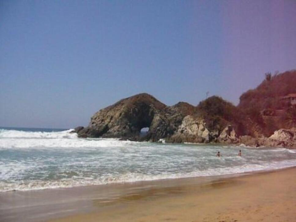 Playa Zipolite México Foto Especial