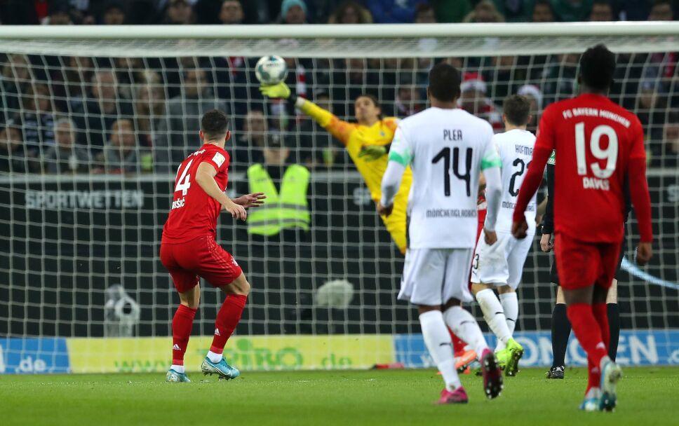 Borussia Mönchengladbach vs Bayern Munich