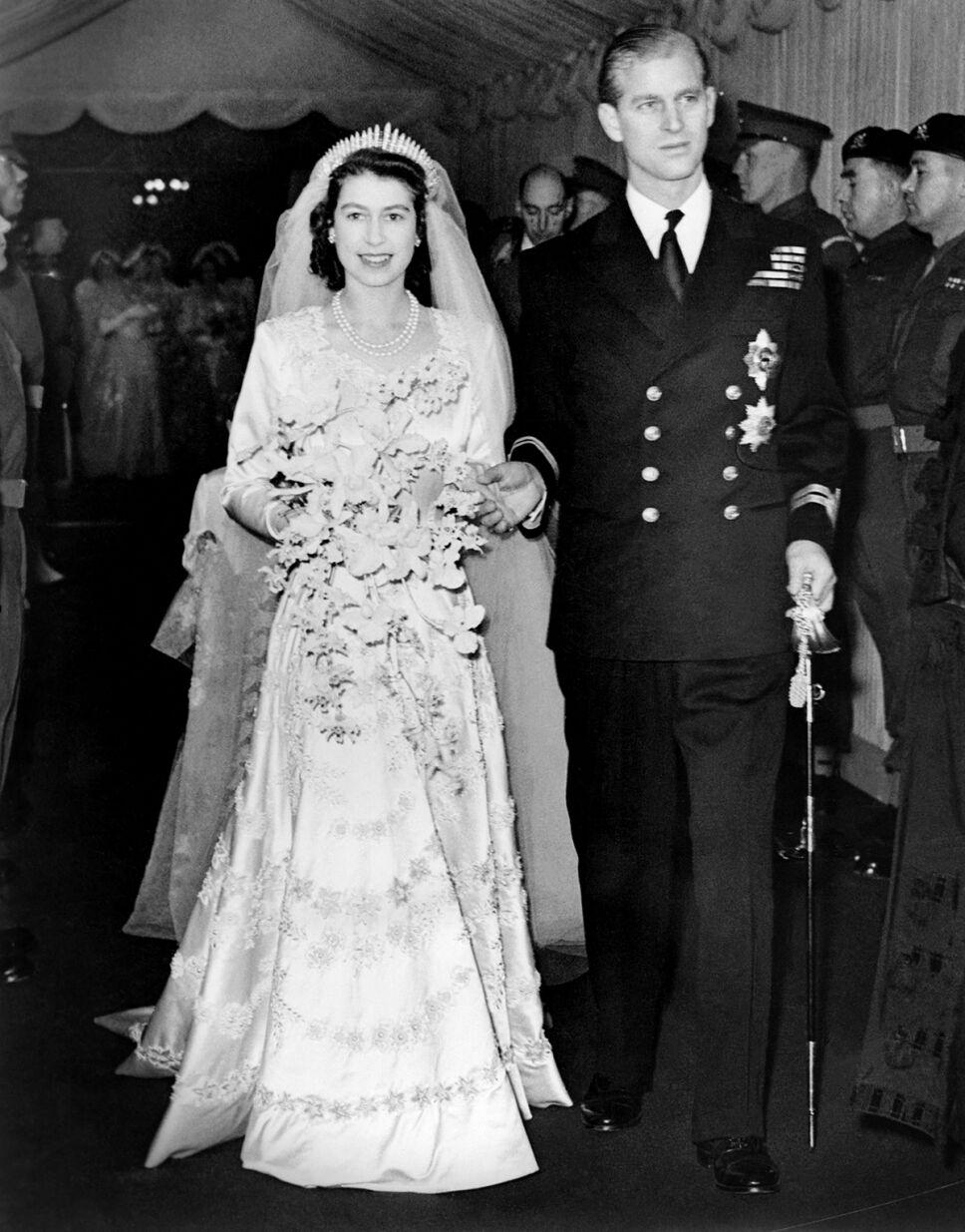 Boda reina Isabel II
