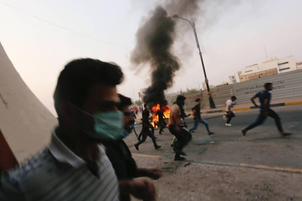 iraq protestas incendios3