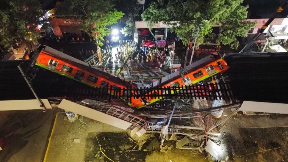 Decretan luto nacional por accidente en la Línea 12 del Metro CDMX