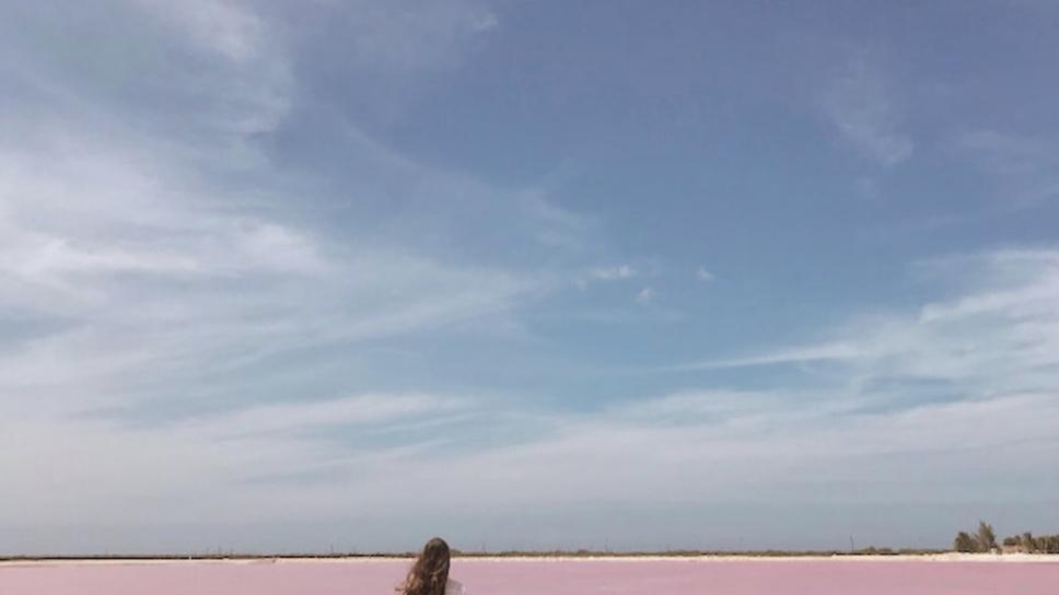 laguna rosa interior
