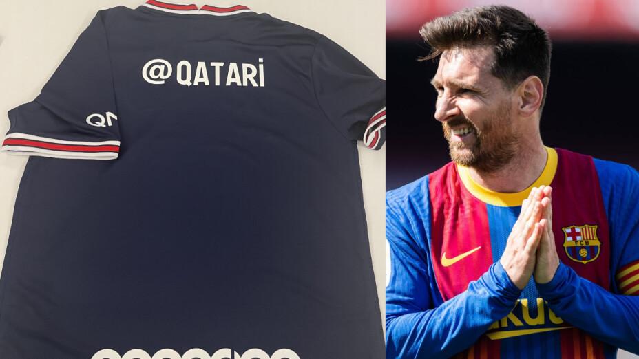 La playera que usaría Messi en el Barcelona.png