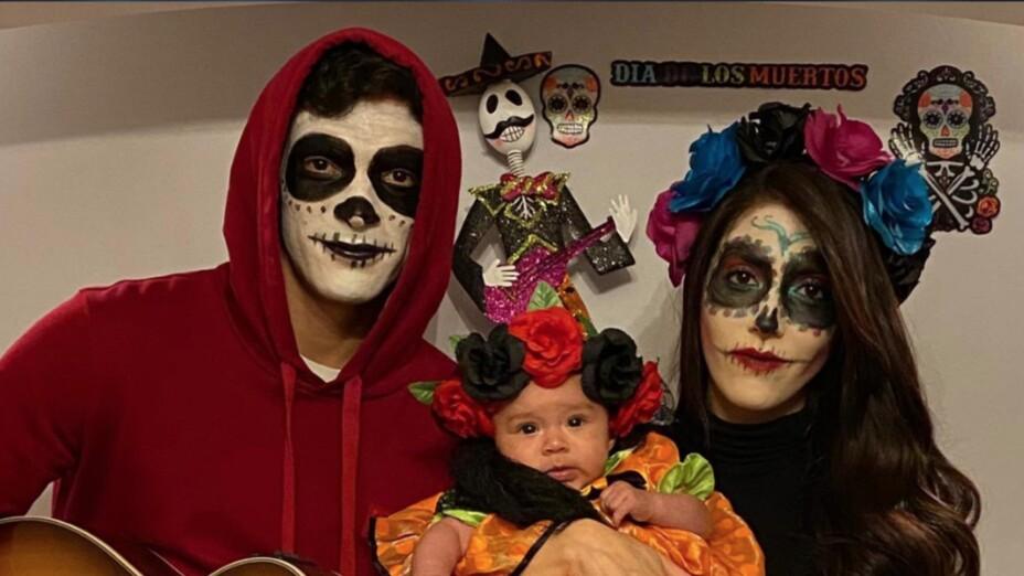 Raúl Jiménez y familia recordando a Coco